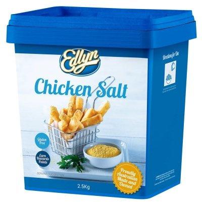 Edlyn Chicken Salt G/F 2.5KG