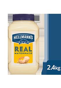 HELLMANN'S Real Mayonnaise 2.4KG (4)