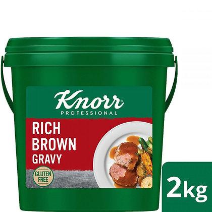 KNORR Rich Brown Gravy Gluten Free 2kg