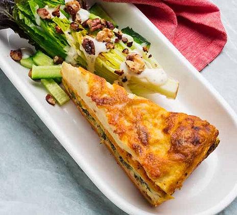 Helens Roast Pumpkin & Garden Spinach Lasagna 3KG (12 Slices)