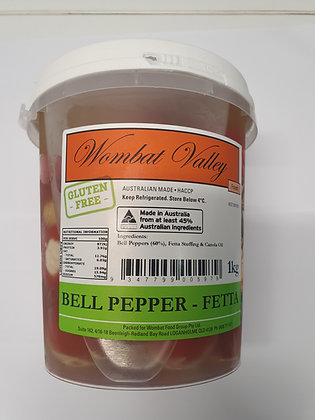 Wombat Valley Stuffed Bell Peppers with Fetta 1KG (6)