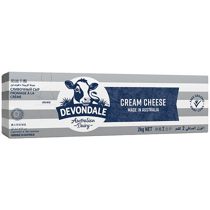 Devondale Cream Cheese 2kg (6)