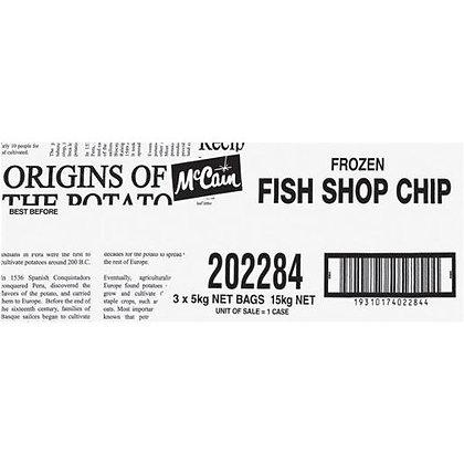 McCain Fish Shop Chips 3X5KG
