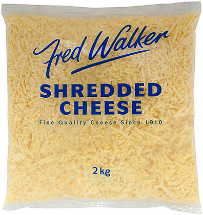 Fred Walker Shredded Tasty Cheese 2KG (6)