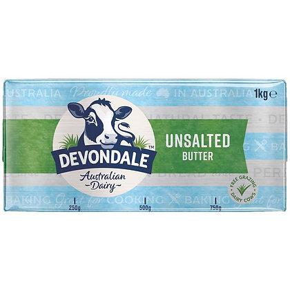 Devondale Unsalted Butter 1KG (10)