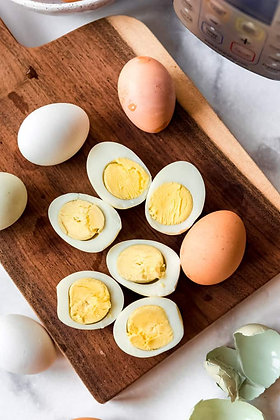 Pace Farm Cooked and Peeled Hard Boiled Eggs 2.5KG (6)