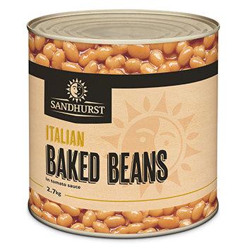 Sandhurst Italian Baked Beans 2.7KG A10 (3)