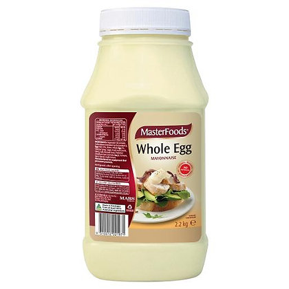 Master Foods Whole Egg Mayonise 2.2KG (6)