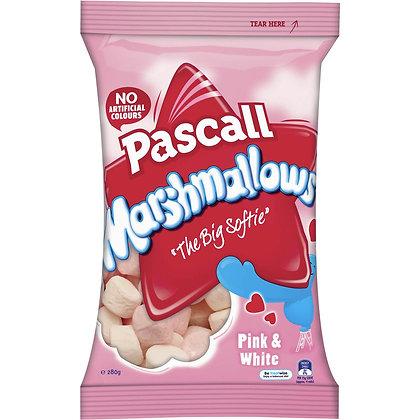 Pascall Raspberry & Vanilla Marshmallows 125G (12)