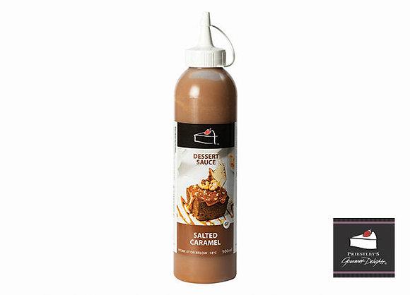 Priestleys Salted Caramel Dessert Sauce 500ML (16)