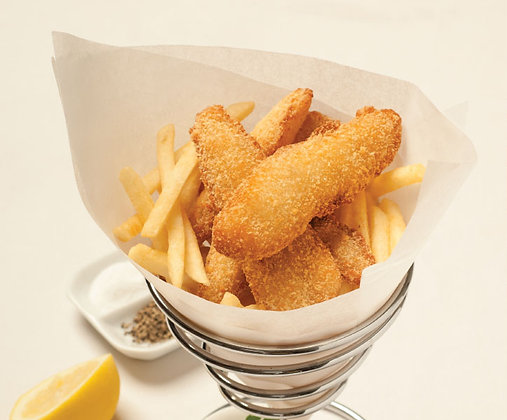 Pacific West Premium Crumbed Whiting Fillets 1KG (25GX40)