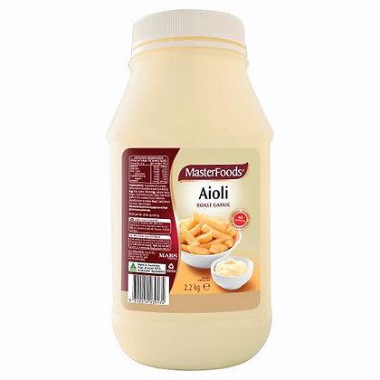 Masterfoods Roast Garlic Aioli Salad Dressing 2.2KG (6)