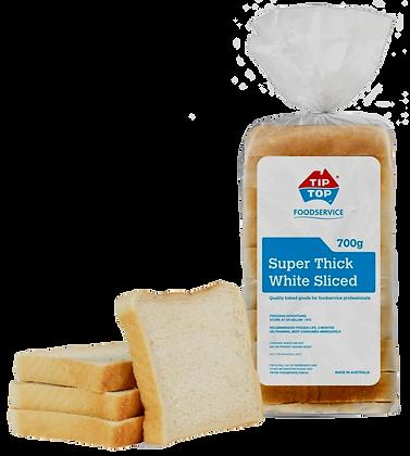 Tip Top Super Thick White Bread (700GX6)