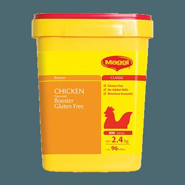 MAGGI Classic Gluten Free Chicken Flavoured Booster 2.4KG