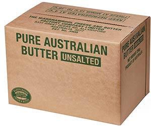 Warnambool Unsalted Butter 15KG