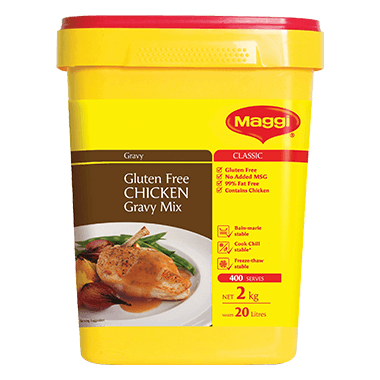 MAGGI Classic Gluten Free Chicken Gravy Mix 2kg