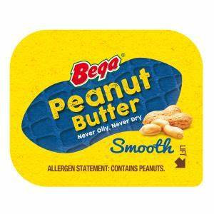 Bega Peanut Butter Smooth Portions (11GX50)