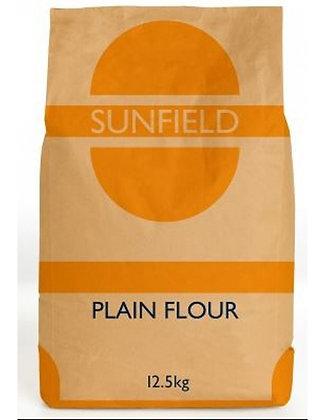 Sunfield Plain Flour 12.5KG