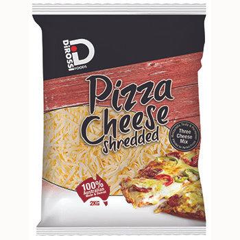 Di Rossi 50/50 Pizza Cheese Shredded 2KG (6)