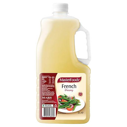 Masterfoods French Vinagrette Salad Dressing 3L (4)