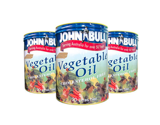 John Bull Vegetable Oil Drum 20L