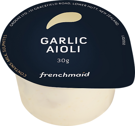 French Maid Garlic Aioli Sauce 3KG (30GX100)