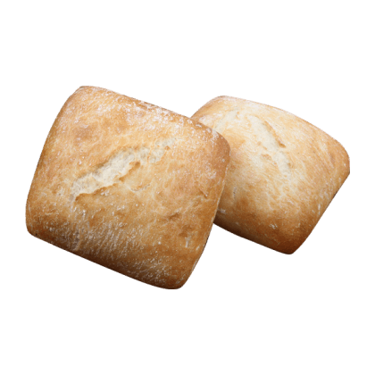 Bakers Maison Fully Baked Square Medium Continental Roll (125GX40)