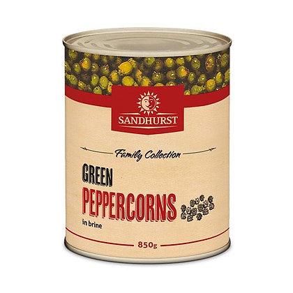 Sandhurst Green Peppercorns 850G (12)