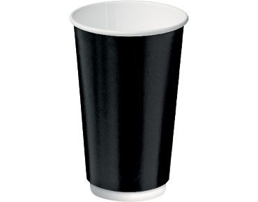 Castaway® Double Wall Insulcups® Coffee 16oz Black (20's)