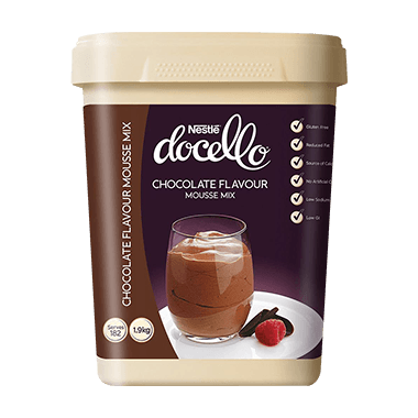 NESTLÉ DOCELLO Chocolate Flavoured Mousse Mix 1.9KG (6)