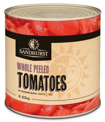 Sandhurst Whole Peeled Tomato 2.55KG A10 (6)