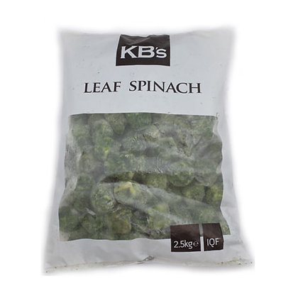 KB's Chopped Spinach IQF 2.5KG (4)