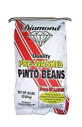 Diamond Quality Pre Washed Pinto Beans 25KG R/W