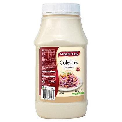 Masterfoods Coleslaw Salad Dressing G/F 2.5KG (6)