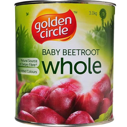 Golden Circle Whole Baby Beetroot 3KG A10 (3)