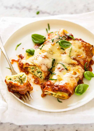 Angelos Ricotta & Spinach Cannelloni 1.2KG (66GX18)
