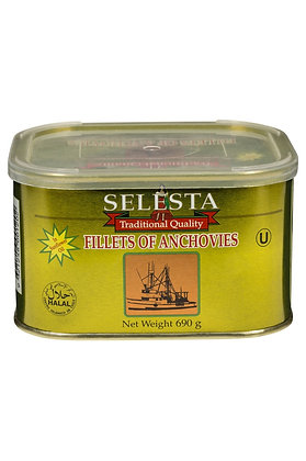 Selesta Anchovies in Oil 690G