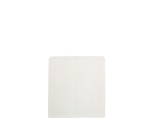 #2 Square Flat White Paper Bag White, Unstrung (500's)