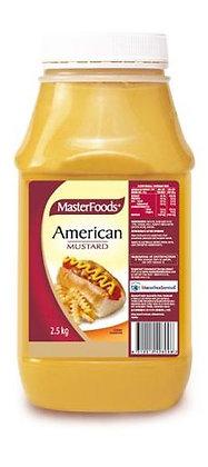 Masterfoods American Mustard 2.5KG (6)