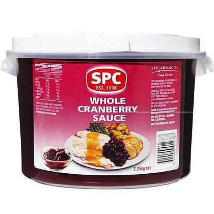 SPC Whole Cranberry Sauce 2.25KG (3)