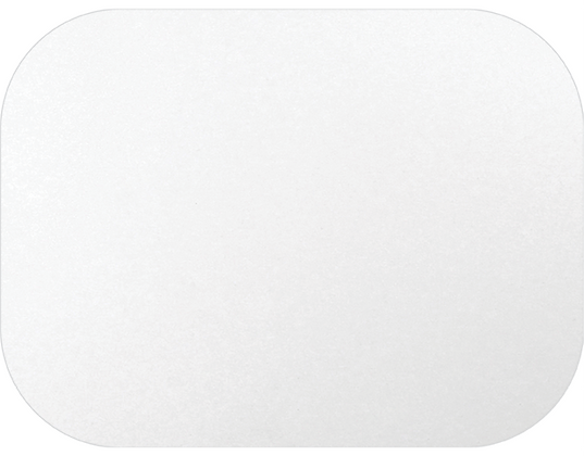 Medium Rectangular Take-Away Container Lids To suit CA-RFC448 White (100s)