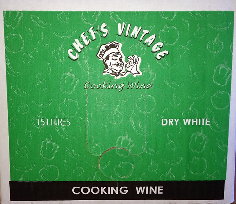 Chefs Vintage Dry White Cooking Wine 15L