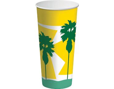 Daintree® Paper Milkshake Cup 24oz (25's)