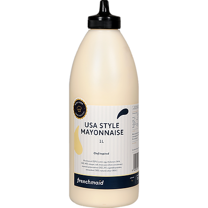 French Maid USA Style Mayonaise  1L (12)