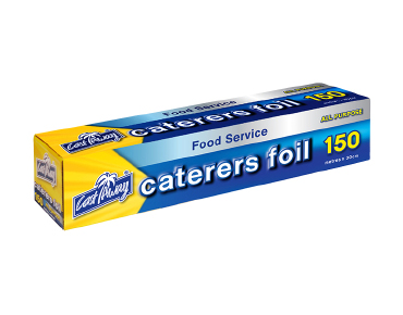 All Purpose Aluminum Caterer's Foil 30cmX150m