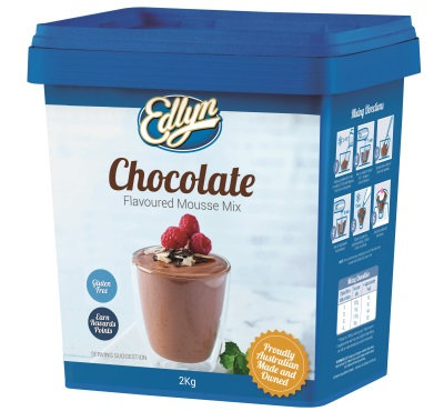 Edlyn Chocolate Mousse Gluten Free 2KG