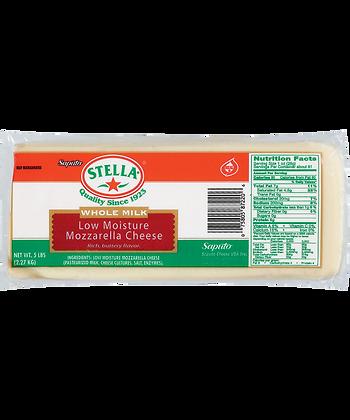 Stella Mozzarella Block Frozen 9.1KG (2)