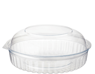 Eco-Smart® Clearview® Food Bowls Hinged Dome Lid Clear 20OZ (25's)