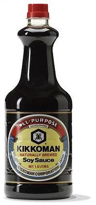 Kikkoman Naturally Brewed Soy Sauce 1.6L (6)