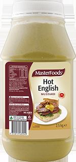 Masterfoods Hot English Mustard 2.5KG (6)